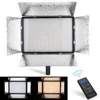 900 LED Professional Photography Studio Video Light Panel Camera Photo Lighting