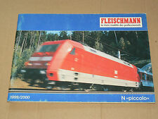 GROS Catalogue Train FLEISCHMANN 1999  N Piccolo Prospekt   brochure prospectus