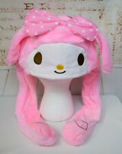Sanrio My Melody Hat with Moving Ears Plush Costume Kawaii