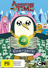 Adventure Time Collection 7 - Reign of Gunters (DVD,2014) New Region 4