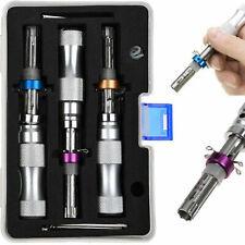 3Pcs Tubular Lock Pick Lock Pick Set Locksmith Tools Equipment Kit