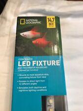 """National Geographic LED Fixture Freshwater Aquarium Light 17"""" NEW"""