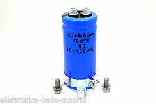 CAPACITOR NICHICON 15000uF 50v 80mm X 35mm - LNR1H153MSE ORIGINAL!