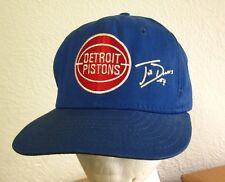 DETROIT PISTONS baseball hat Joe Dumars basketball cap 1980s snapback #4
