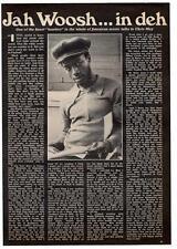 Jah Woosh Reggae Interview Black Music Magazine