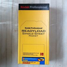 Kodak Ektachrome 64T 4x5 Readyload film, unopened boxes of 20, fast ship.