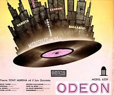 TONY MURENA fisarmonica e il suo QUINTETTO disco LP 25 CM. made in ITALY