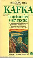 LIBRO= La METAMORFOSI E ALTRI RACCONTI di FRANZ KAFKA=1996