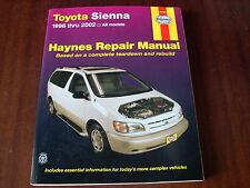 Reparaturanleitung Toyota Sienna ,ab 1998 - 2002