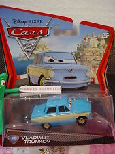 NEW Disney Pixar Cars 2 #28 VLADIMIR TRUNKOV✿BLUE ✿HTF