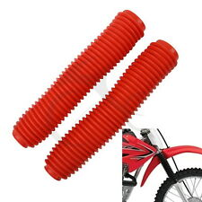 Red Yamaha DT200 R 89-00 Fork Gaiters