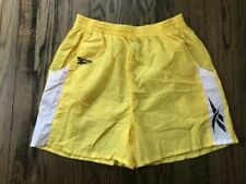 Vtg Reebok Mens Spell Out Running Shorts Size XL
