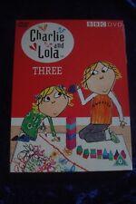 Charlie And Lola Vol.3 (DVD, 2006).BBC DVD VOLUME THREE.HARDBACK EDITION DVD
