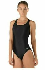 NEW Speedo Girls' Swimsuit - Pro LT Super Pro Youth L 12/28 ~ Black