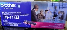 Brother TN115M High Yield Magenta Toner Cartridge, Approximate 4,000 Page Yield