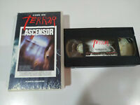 El Lift Dick Maas Huub Stapelbecher Horror VHS Tape Kassette Spanisch