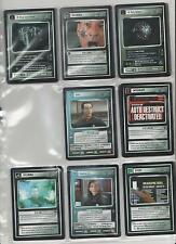 Star Trek customizable CARD GAME CCG first contact carte singole SELEZIONE SELECT