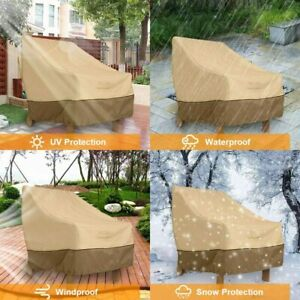 Waterproof Patio Lounge Chair Cover Outdoor Patio Furniture Covers with Air Vent