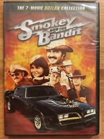 Smokey and the Bandit: 7-Movie Collection (4-DVD Set) • NEW • Burt Reynolds &