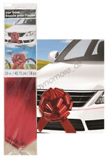 Giant Red Car Gift Bow Party Decorate Large Birthday Christmas Foil Metallic New