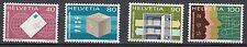 Schweiz - Weltpostverrein ( UPU ) Dienstleistungsqualität MNr. 10-13 postfrisch