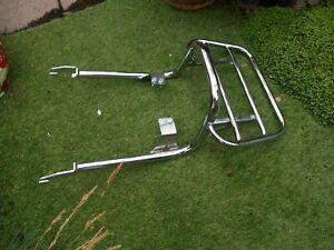 triumph bonneville luggage rack chrome