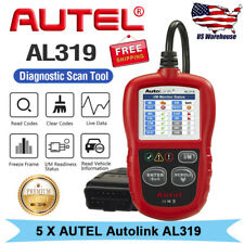 Autel AutoLink AL319 Car OBD2 Code Reader Clear Fault Codes Check Engine Light