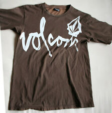 Volcom Round Collar Brown T-shirt