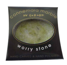 Irish Connemara Marble Worry Stone - New - Real Irish Marble from Galway Ireland