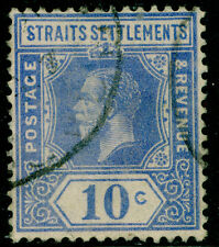 Sg230, 10c bright blue, FINE used, CDS.