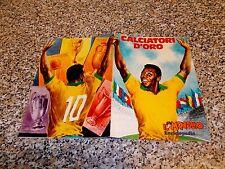ALBUM figurine CALCIATORI D'ORO IL MONELLO 1972 COMPLETO BELLO + PELE NO PANINI