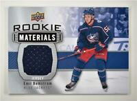2019-20 Series 2 Rookie Materials #RM-BE Emil Bemstrom - Columbus Blue Jackets