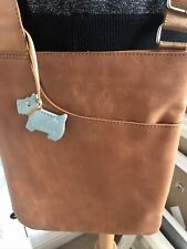 RADLEY  Tan Leather Messenger Bag /cross Body Shoulder Bag