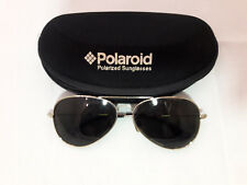 Polaroid polarized sunglasses, Gold Metal frame