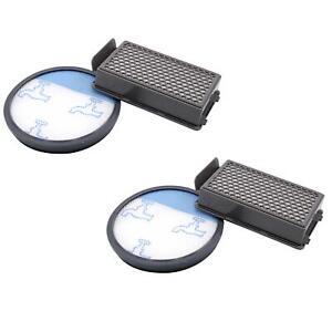 2x Set di filtri hepa per Rowenta RO3753EA, RO3786EA, RO3798EA