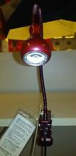 New IKEA JANSJO led Easy Clip Clamp-on Spotlight Desk/Table/work lamp(Wine Red)