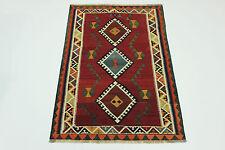 ESCLUSIVO NOMADI kilim fine PEZZO UNICO persiano tappeto Orientale 2,25 x 1,48