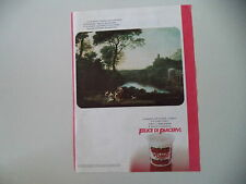 advertising Pubblicità 1984 YOGURT YOMO