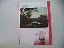 advertising Pubblicità 1984 YOGURT YOMO