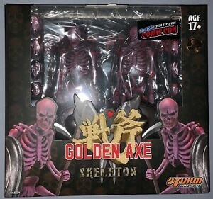 Storm Collectibles 1:12 Golden Axe Skeleton Soldier Action Figures - 2 Pack