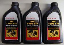 3 Quarts Toyota/Scion Automatic Transmission Fluid ATF!