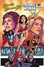 Wonder Woman '77 Meets The Bionic Woman #5 Cover B by Phil Jimene DC Comics 2017