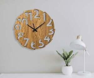 Wall Clock Australian Made Design Style #4