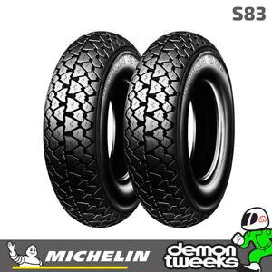 Michelin S83 Scooter / Motorcycle Tyre 3.50-10 (59J) TT - Fits Front / Rear