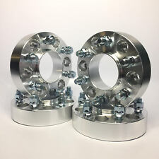 """4X Hubcentric Wheel Spacers ¦ 6x5.5 (6X139.7) ¦ 14X1.5 ¦ 1.5"""" INCH 38MM Chevy"""
