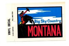 Lot of 12 Montana Big Sky Country Luggage Decals Stickers - New - Free S&H