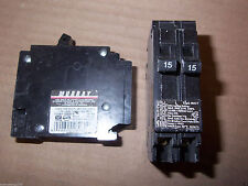 Murray/Crouse Hinds Mh-T Twin 1 pole 15 amp 120/240v Mp1515 Circuit Breaker Mp