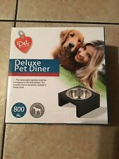 Pet Central Deluxe Pet Diner Bowl 800ml