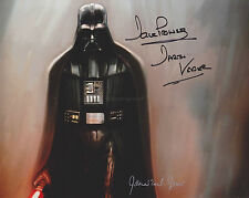 James Earl Jones & Dave Prowse HAND SIGNED 8x10 Photo, Star Wars Darth Vadar