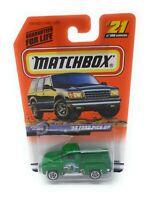 Matchbox MBX Superfast 1999 No 21 1956 Ford Pick Up grün USA exlusiv Modell